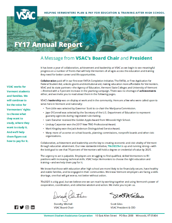 Annual Report FY 17