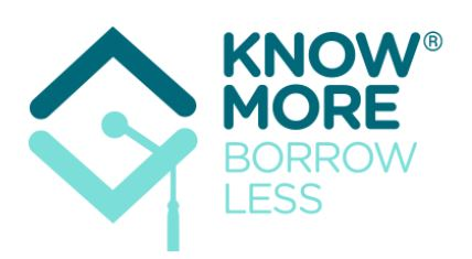 Know more. Borrow less.