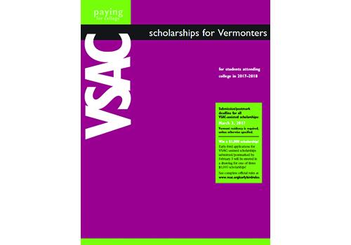 VSAC scholarship booklet